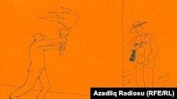 Карикатура Решида Шерифа.
