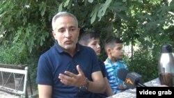 Саидвали Саидов, сокини шаҳри Душанбе