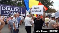La protestul din Chișinău, 26 august 2018