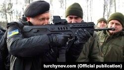 Секретар Ради національної безпеки і оборони України Олександр Турчинов, грудень 2017 року
