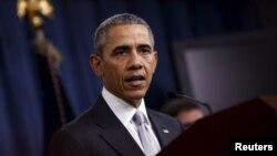 باراک اوباما میگوید که «رهبران گروه حکومت اسلامی نمیتوانند مخفی شوند».