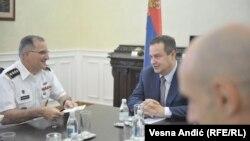 Sa sastanka ministra Ivice Dačića i komandanta NATO snaga za Evropu Kurtisa Skaparotija