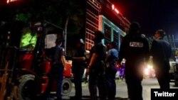 Policija u Manili, arhivska fotografija