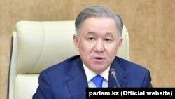 Нурлан Нигматулин, председатель нижней палаты парламента Казахстана.