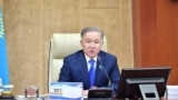 Kazakhstan - Nurlan Nigmatulin, chairman of the Mazhilis of the Parliament of the Republic of Kazakhstan