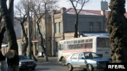 Одна из улиц Шымкента. Иллюстративное фото.