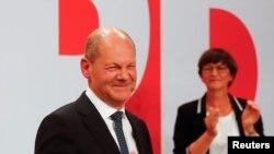 Лидерот на СПД Олаф Шолц