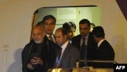 Presidenti i Afganistanit Hamid Karzai ka arritur në Pekin për të marrë pjesë në samit