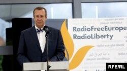 Preşedintele eston Toomas Hendrik Ilves