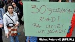 Protesti u Sarajevu, ilustrativna fotografija