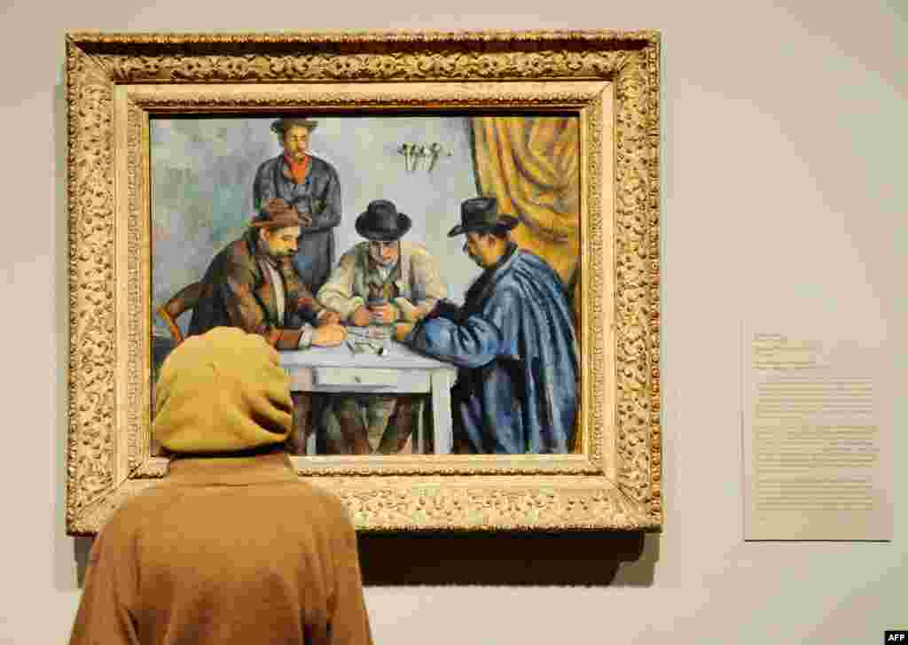 "The most expensive painting ever sold to date is Paul Cezanne's ""The Card Players"" (1890-92), which was sold by a private owner to Qatar for $250 million last year."