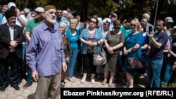 Траурное мероприятие к 75-ой годовщине депортации крымских татар из Крыма. Симферополь, 18 мая 2019 года