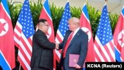 Donald Trump və Kim Çen In
