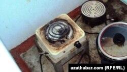 Elektrik gyzdyryjy abzallar. Türkmenistan