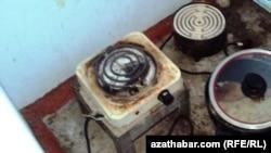 Türkmenistanda ulanylýan gaz plitalary