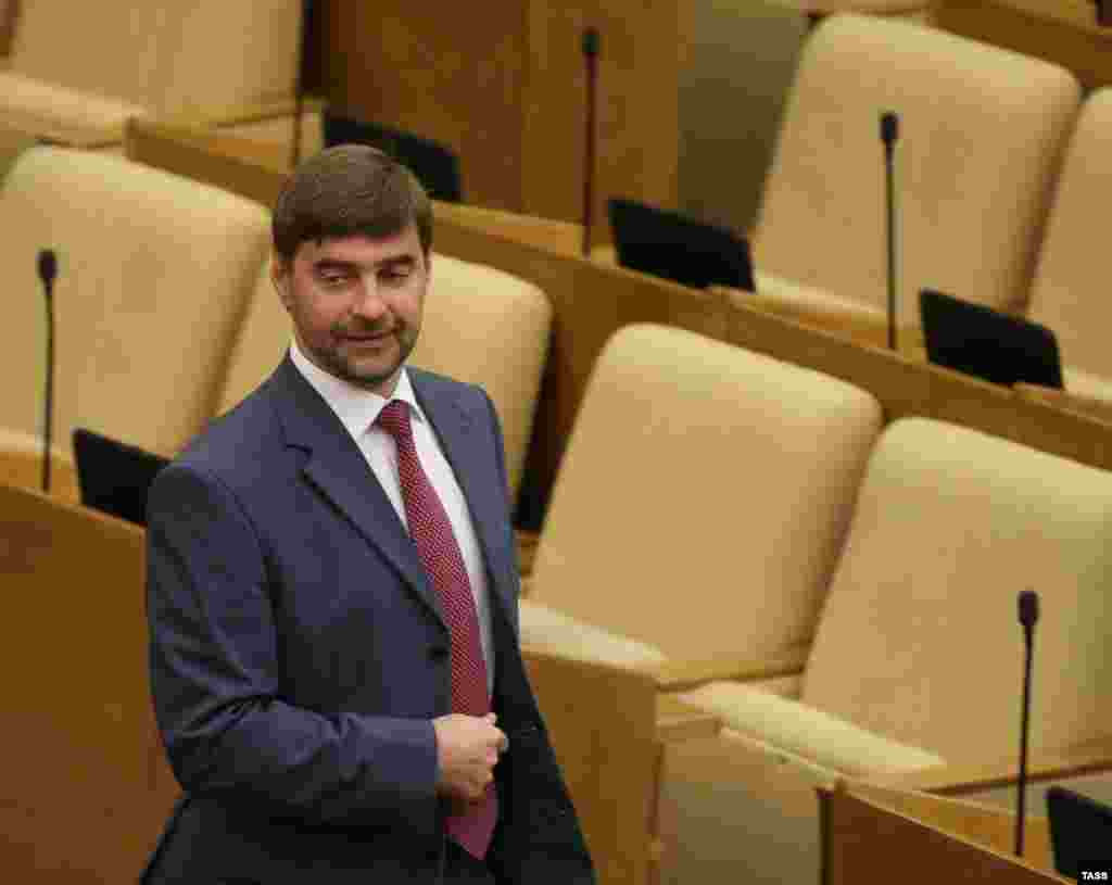 Sergei Zheleznyak is the deputy speaker of the Russian State Duma.