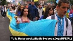 «Марш у вышыванках», Днепрапятроўск, 4 траўня
