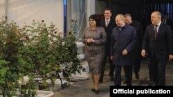 Президент России Владимир Путин с визитом в Адыгее. Декабрь, 2019 г