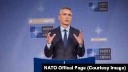 генаралниот секретар на НАТО Јенс Столтенберг, Брисел, 08.11.2017.