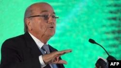 Претседателот на ФИФА, Сеп Блатер.