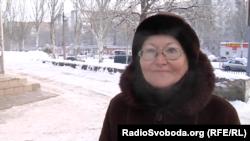 Жінка сумнівається, що Донбас залишать бойовики