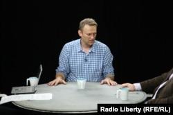 Алексей Навальный в студии Радио Свобода. 25 мая 2015 года
