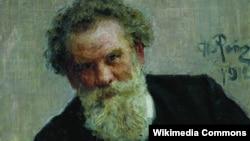 Илья Репин. Портрет В. Г. Короленко, 1912