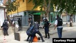 Nga një arrestim i mëparshëm i pjesëtarëve të Vetëvendosjes