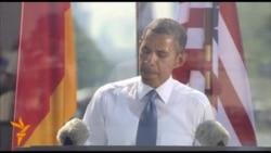 Berlin: Obama na Brandenburškoj kapiji