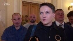 Звільнена із СІЗО Надія Савченко повернулася в Раду – відео