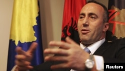 Ramush Haradinaj in a 2012 photo