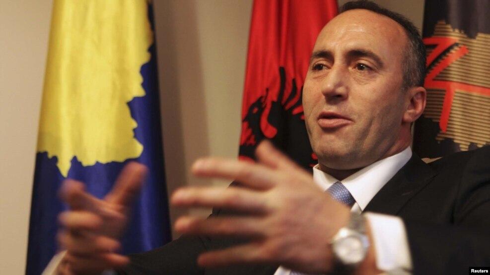 Ramush Haradinaj in a 2012 photo