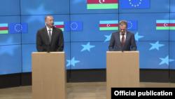 И.Алиев и Д.Туск