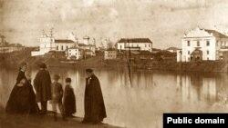 Віцебскі краявід у сярэдзіне XIX ст.