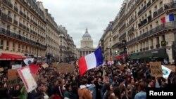 Protestul din 15 martie din Paris