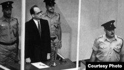 Adolf Eichmann în cursul procesului de la Ierusalim