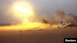 Сирияда атылган ракета, 19-ноябрь, 2017-жыл.