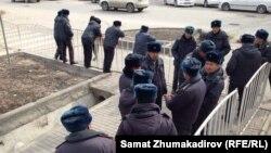 Кыргыз милиционерлери.