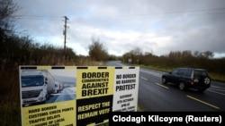 İrlandiya ilə Şimali İrlandiya arasında sərhəd