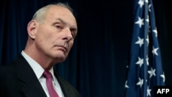 U.S. Secretary of Homeland Security John Kelly (file photo)