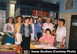50-гадовы юбілей у Скарынаўскім цэнтры. 1998 год