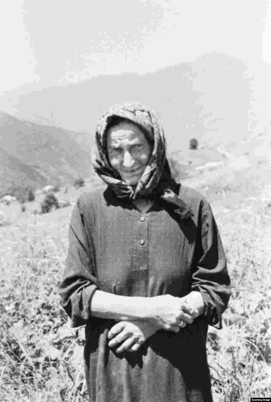 Жена пастуха Цумат.