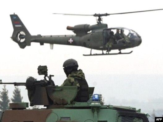 Specijalne snage Vojske Srbije na vojnoj vežbi - iz arhive