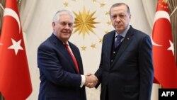 R.Tillerson və R.T.Erdoğan