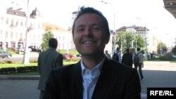 Сябра дэлегацыі, дырэктар Эўрапейскага аддзелу Міжнароднай фэдэрацыі журналістаў Марк Грубэр