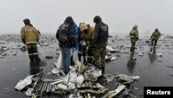 Місце катастрофи літака Boeing 737 у Ростові-на-Дону, Росія, 19 березня 2016 року