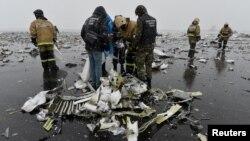 На місці падіння літака, Ростов-на-Дону