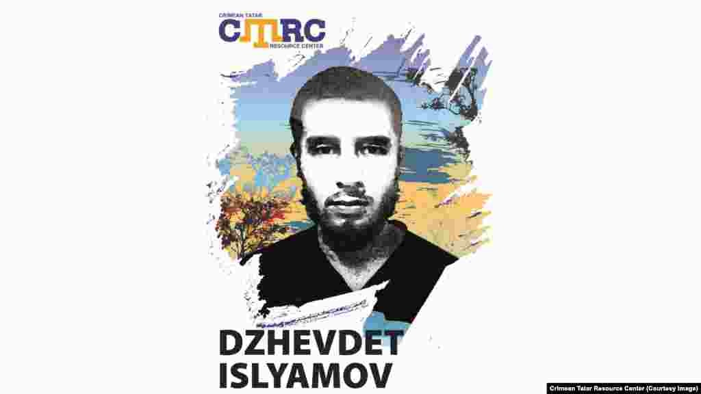 Dzhavdet Islyamov, Crimean Tatar He was kidnapped in September 2014 together with Islyam Dzhepparov, the son of Crimean Tatar activist Abdurashid Dzhepparov. Dzhavdet Islyamov was 22 at the time of his disappearance. (See above.)