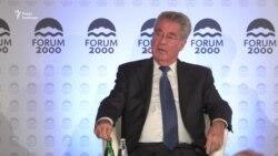 Екс-президент Австрії підтримав Земана щодо необхідності скасування санкцій (відео)