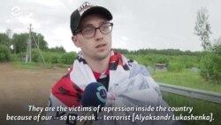 Belarusians Set Up Protest Camp On Lithuanian Border